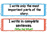 Writing Workshop: 6 +1 Writing Trait Activities and Bullet