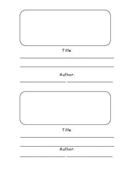 Writing Workshop Small Moments Mini-Book Template