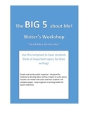 Writing Workshop - Starter Activity