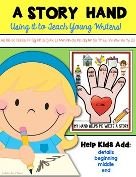 Writing Workshop {Story Hand} for Kindergarten and First Grade