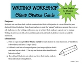 Writing Workshop: Student Status Cards