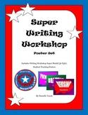 Writing Workshop Super Poster Set: Schedule Shield and Stu
