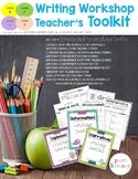 Writing Workshop Teacher Toolkit
