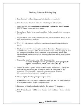 Writing Workshop: Time Saving Writing Content Editing Key