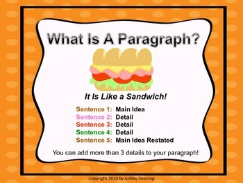 Writing Workshop:  What Is a Paragraph? - An Introduction or Review Minilesson