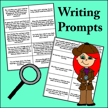Narrative Writing - Writing Mysteries