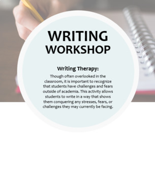 Writing Workshop -- Writing Therapy