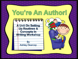 Writing Workshop:  You're An Author!  Setting Up Concepts