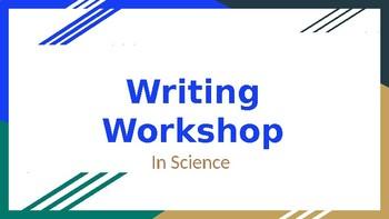 Writing Workshop in Science