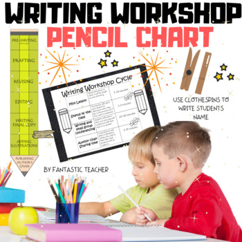 Writing Workshop pencil chart