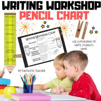 Writing Workshop pencil chart