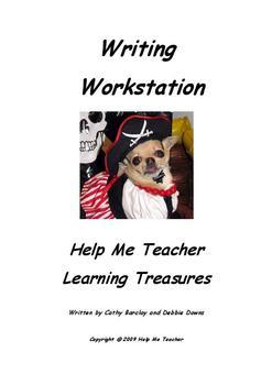 Kindergarten Writing Workstation - Full School Year - Help Me Teacher