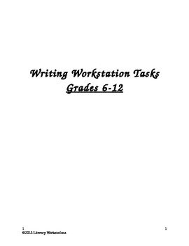 Writing Workstation Tasks