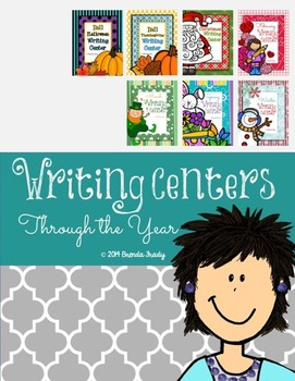 Writing Workstation/Center Packs *Through the Year!*