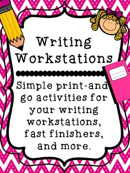 Writing Workstations: Print and Go!