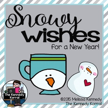 Snowy Wishes for a New Year! {Writing Activity}