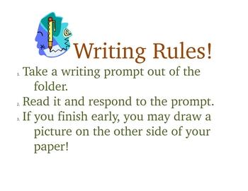 Writing Wroskhop/Group for 1st grade