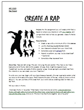 Writing Your Own Rap Lesson Plan