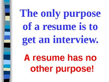 Writing Your Winning Resume & Cover Letter
