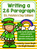 Writing a 2.6 Paragraph {St. Patrick's Day Edition}