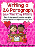 Writing a 2.6 Paragraph {Valentine's Day Edition}