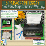 5 PARAGRAPH ESSAY - Introduction to Writing - Middle School