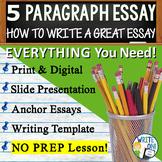 Five Paragraph Essay | How to Write a 5 Paragraph Essay |