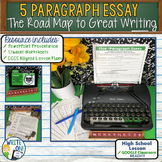 5 PARAGRAPH ESSAY - Introduction to Writing - High School