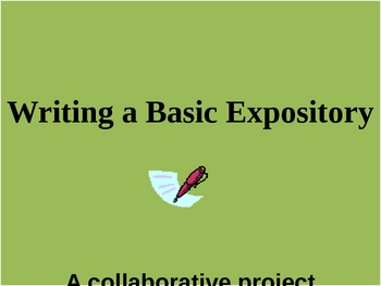 Writing a Basic Expository Composition