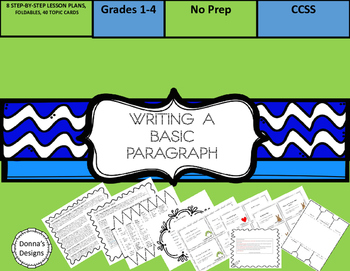 Writing a Basic Paragraph