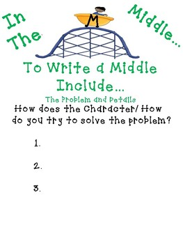 Writing a Beginning, Middle, and Ending in your Small Moment, Personal Narrative