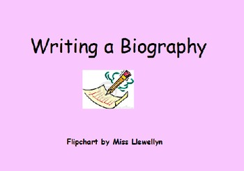 Writing a Biography