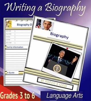 Writing a Biography Microsoft Word Version