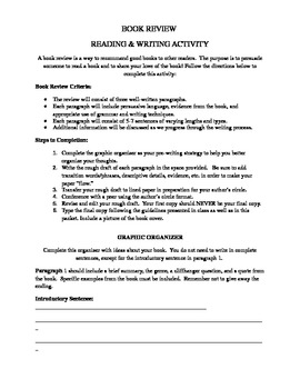 Writing a Book Review - Creative Writing