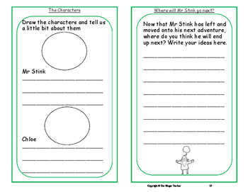 Writing a Book Report; Complete Lesson  – Mr Stink
