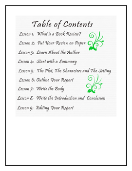 Writing a Book Review Unit Study 2 of 4