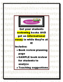 Writing a Book Review (planner and mentor review-for informational writing)