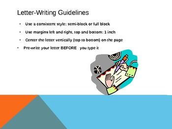 Writing a Business Letter Lesson