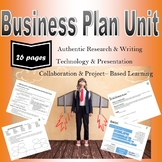 Writing a Business Plan:  Project-Based Collaborative Presentation Project