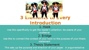 Writing a Catchy Intro - PPT Lesson