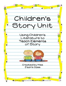 Writing a Children's Story - Unit Plan