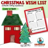 Writing a Christmas Wish List | Christmas Resources | Writing