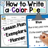 Writing a Color Poem Lesson Plan