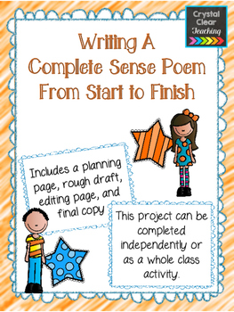 Writing a Complete Sense Poem From Start to Finish