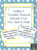 Writing a Complete Winter/Summer Diamante Poem