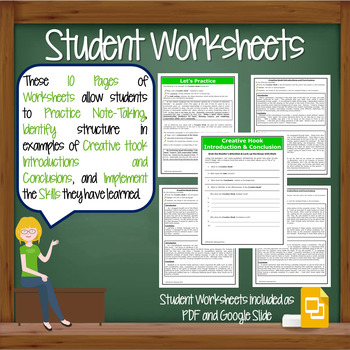 intro and conclusions worksheet Introductions and conclusions seem to be the biggest road block for my students i am at a loss of how to teach these two stuctures in their writing without it.