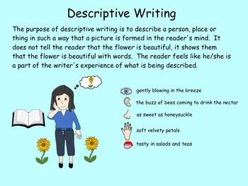 Writing a Descriptive Paragraph PDF (gr 3-5