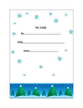 Writing a Fable!