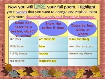 Writing a Fall Poem