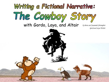 Writing a Fictional Narrative with Gordo and Laya